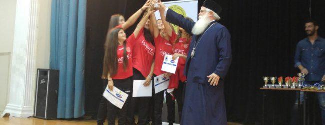 Βόλος: Πλήθος κόσμου στην τελετή βράβευσης των Ακαδημιών Ποδοσφαίρου