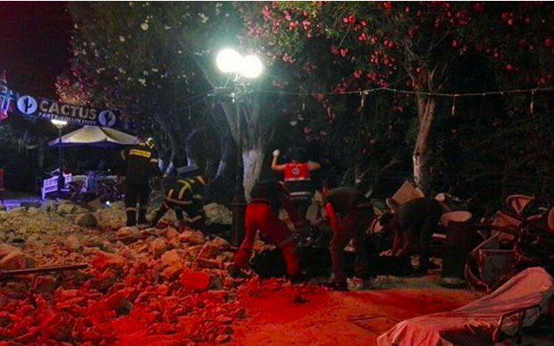 Κως: Δύο νεκροί, πάνω από εκατό τραυματίες από τα φονικά 6,4 ρίχτερ
