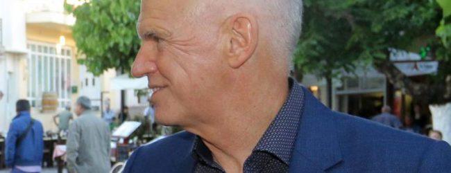 Γιώργος Παπανδρέου: Ρομαντικό δείπνο στη Σκιάθο με την  Ολλανδέζα σύντροφό του