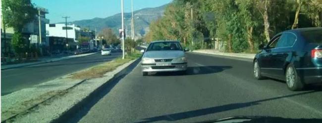 Βόλος: Οδηγούσε το αυτοκίνητο της στο αντίθετο ρεύμα στην Αθηνών
