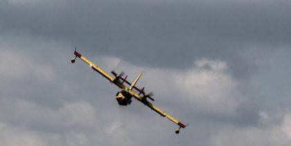 Μεγάλη φωτιά στα Ροδινά Ηλείας – Επιχειρούν οκτώ πυροσβεστικά αεροπλάνα