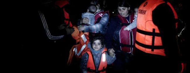 Ασταμάτητες οι ροές μεταναστών -Το τελευταίο 24ωρο έφθασαν 600 στα νησιά του Β.Αιγαίου