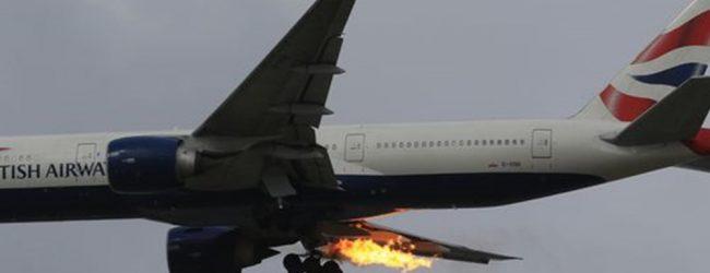 Τρόμος σε πτήση από Λονδίνο για Αθήνα: Στις φλόγες η μία μηχανή του αεροπλάνου