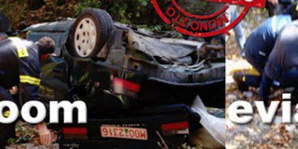 Φοβερό δυστύχημα στην Εύβοια: Μοιραία «βουτιά» αυτοκινήτου από γέφυρα – Νεκρός ο οδηγός