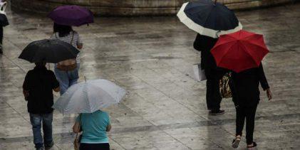 Εκτακτο Δελτίο Επιδείνωσης Καιρού: Ερχονται βροχές και καταιγίδες -Από το βράδυ μέχρι την Τρίτη