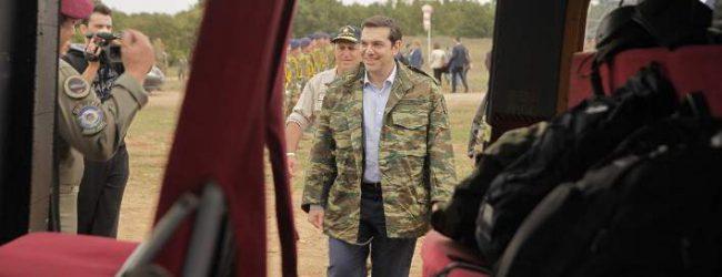 «Πετάει, πετάει ο Τσίπρας;» – Πτήση με F-16 κάνει ο πρωθυπουργός στη Λάρισα!
