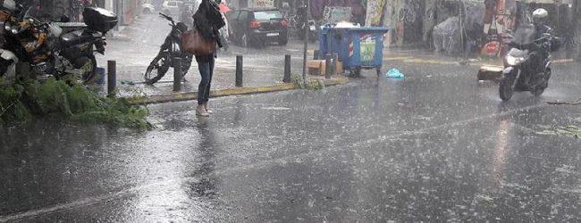ΕΜΥ: Ερχονται ισχυρές καταιγίδες και χαλάζι – Σε ετοιμότητα  ο Δήμος Βόλου, εφιστά την προσοχή των πολιτών
