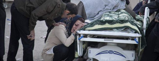 Θρήνος: 530 οι νεκροί από το σεισμό στο Ιράν -Τέλος οι επιχειρήσεις διάσωσης (photos)