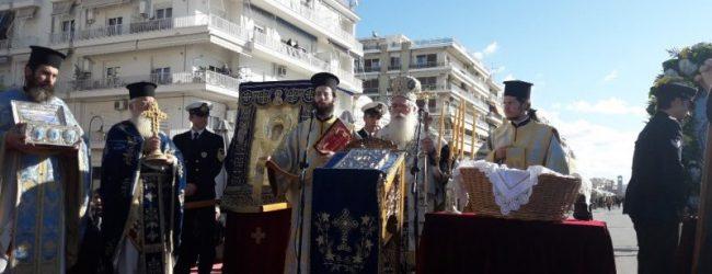 Μεγαλοπρεπής η εορτή του Αγίου Νικολάου στον Βόλο (εικόνες)