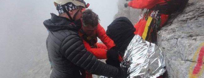 Και νέα επιχείρηση διάσωσης εγκλωβισμένων στον Ολυμπο! -Η τρίτη από το Σάββατο