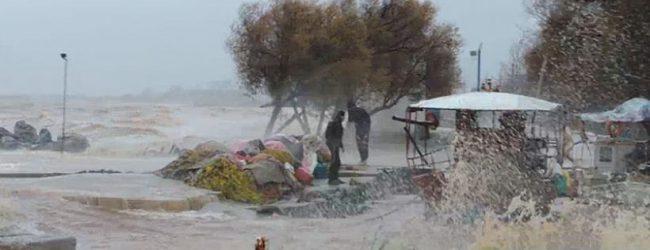 Προβλήματα από την κακοκαιρία στην περιοχή του Αλμυρού (βίντεο και φωτο)