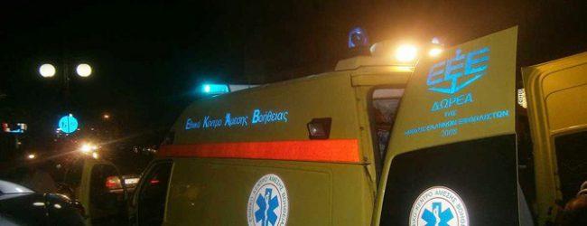 Αυτοκίνητο παρέσυρε ανήλικο ποδηλάτη στη Λάρισα – Στο νοσοκομείο ένας 17χρονος