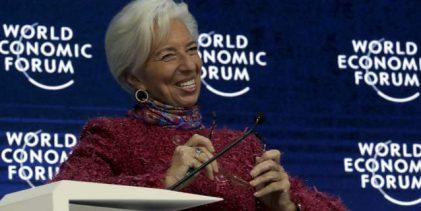 Λαγκάρντ: Υπό εποπτεία θα παραμείνει η Αθήνα, όσο κι αν θέλει ο Τσίπρας να πανηγυρίσει