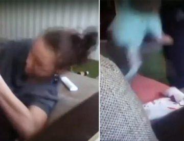 Νταντά βασάνιζε παιδάκι κλείνοντάς του την μύτη για να μην μπορεί να αναπνεύσει (pics & vid)