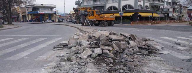 Κυκλοφοριακές ρυθμίσεις για τις ανάγκες του κυκλικού κόμβου στο ΚΤΕΛ