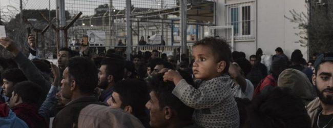 Μυτιλήνη: Ξεπέρασαν τους 5.700 οι πρόσφυγες και μετανάστες στη Μόρια