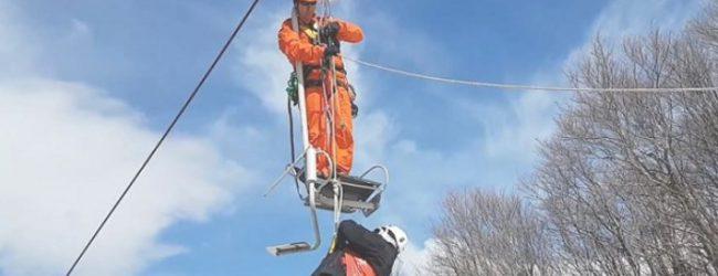 Ασκηση απεγκλωβισμού και διάσωσης τραυματιών στο Χιονοδρομικό Πηλίου [photos]