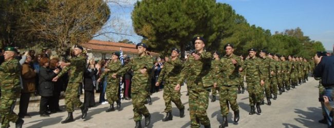 Ορκίστηκε η 1η σειρά νεοσυλλέκτων στην 32η Ταξιαρχία [photos]