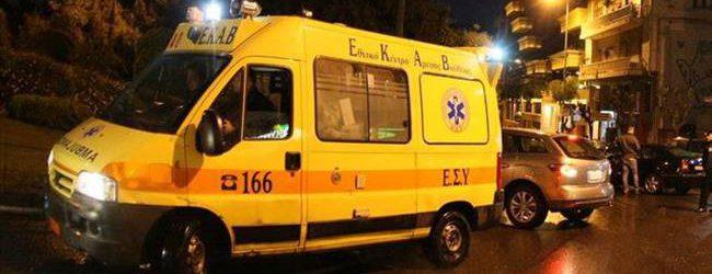 Τρεις τραυματίες σε τροχαίο ατύχημα στο κέντρο του Βόλου