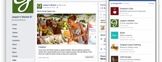 Το Facebook επεκτείνει τη δραστηριότητα αναζήτησης εργασίας σε 40 χώρες