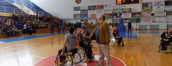 Αγώνας μπάσκετ ΑμΕΑ για φιλανθρωπικούς σκοπούς