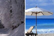 Έρχεται τρελός καιρός με χιόνια στη Μακεδονία και «καύσωνα» στην Κρήτη