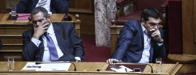 Θρίλερ με τον Καμμένο: «Θα τα κάνω όλα λίμπα», φέρεται να είπε στον Τσίπρα