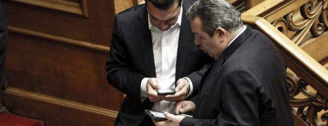 Ρήξη ή λύση: Σκοπιανό και Ιβάν Σαββίδης κρίνουν το μέλλον της συγκυβέρνησης ΣΥΡΙΖΑ-ΑΝΕΛ