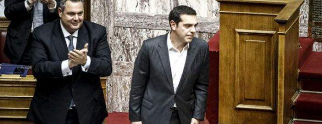Σιγή Μαξίμου για Καμμένο -Ο Τσίπρας έτοιμος για παρέμβαση στη Σύνοδο, αν δε βρεθεί λύση τις επόμενες μέρες