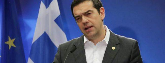 Τσίπρας σε Σκοπιανή δημοσιογράφο: Εύχομαι σε λίγο να συστήνεστε ως εκπρόσωπος της Gorna Makedonija (vid)