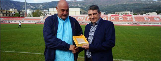 Νικητής ο ΝΠΣ Βόλος και η ανθρωπιά στον φιλικό αγώνα με την Ελπίδων – Τιμήθηκε ο Αχ. Μπέος