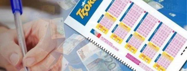 Τζακ-ποτ στο Τζόκερ: 1,3 εκατ. ευρώ στην επόμενη κλήρωση