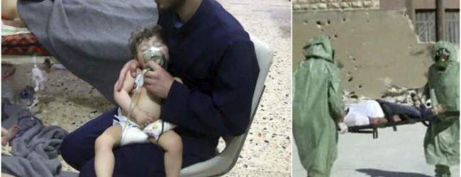Μόσχα: Σκηνοθετημένη η επίθεση με χημικά στη Συρία -Από τα «Λευκά Κράνη»