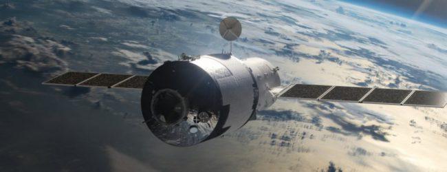 Πάνω από τον Ειρηνικό Ωκεανό έγινε «πύρινη σφαίρα» ο κινεζικός δορυφόρος