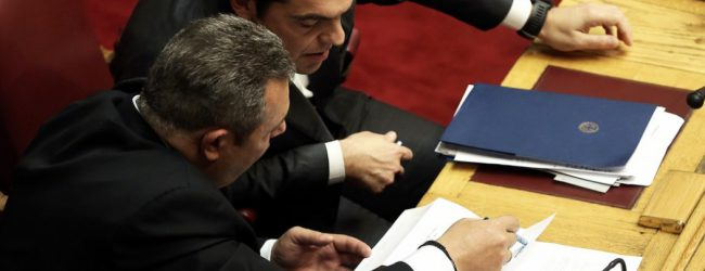 Ανοιχτό το ενδεχόμενο εκλογών μέσα στο 2018 – Καμμένος και μέτρα κρίνουν την πρόωρη προσφυγή στις κάλπες