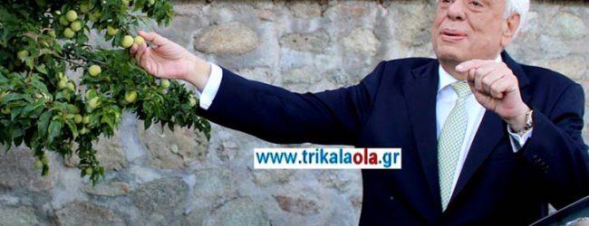 Θυμήθηκε τα παιδικά του χρόνια στην Καλαμπάκα ο Πρόεδρος της Δημοκρατίας