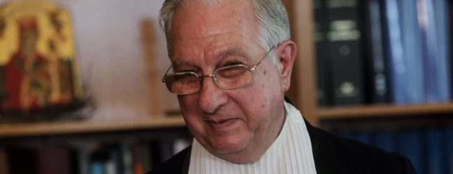 Χαμός στο ΣτΕ- Σοκ από το «κατηγορώ» Σακελλαρίου στην κυβέρνηση για τις συντάξεις
