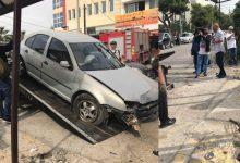 Τραγωδία: Αυτοκίνητο έπεσε σε στάση λεωφορείου στη Μεταμόρφωση – Ένας νεκρός