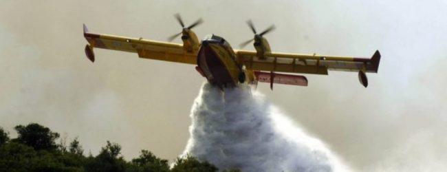 Μεγάλη φωτιά στην δασική περιοχή της Μαρπούντα Αλοννήσου