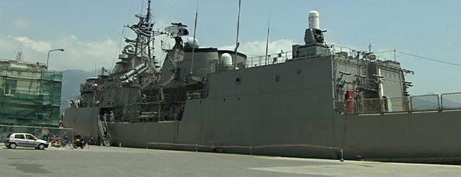 Στο λιμάνι του Βόλου έδεσε η φρεγάτα Ύδρα – Μέχρι και αύριο το βράδυ θα είναι επισκέψιμη στο κοινό