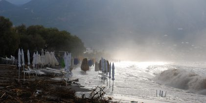 Σαββατοκύριακο με καταιγίδες στα παράλια της Θεσσαλίας