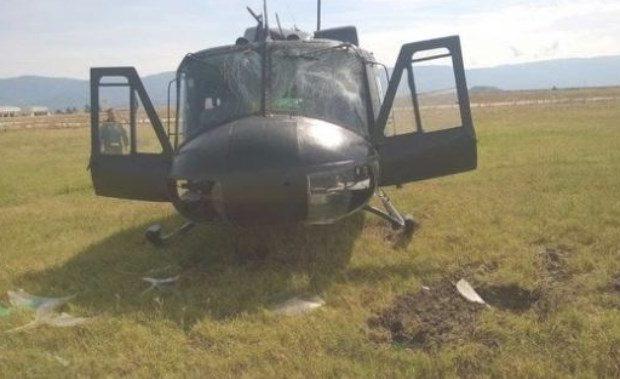 Στεφανοβίκειο: Απεκρύβη σοβαρό ατύχημα με Ελικόπτερο του Ελληνικού Στρατού!