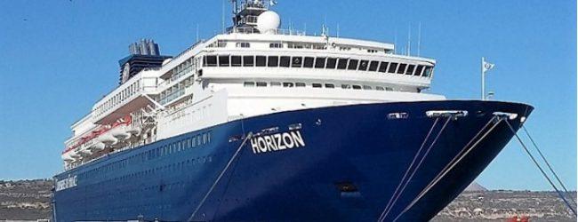 1.500 τουρίστες έφερε το «Horizon» στον Βόλο