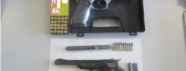 Συλλήψεις σε Λάρισα και Βόλο για κατοχή όπλων