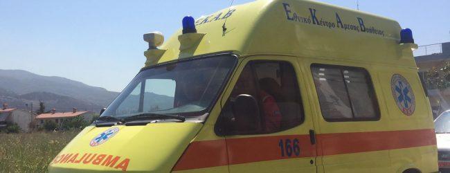 Τροχαία ατύχημα στο Μαλάκι – Δύο τραυματίες