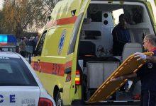 Φορτηγό συγκρούστηκε με μηχανή έξω από τη Λάρισα-Ένας τραυματίας