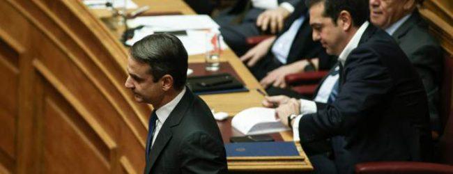 Σενάρια ότι η ΝΔ θα καταθέσει πρόταση μομφής για τη συμφωνία με τα Σκόπια