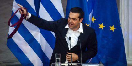 Τι μένει από τη γραβάτα του Τσίπρα – Δεσμεύσεις και λιτότητα έως το 2022