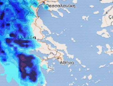 Καλλιάνος: Ερχεται νέο κύμα κακοκαιρίας έως την Πέμπτη – Πότε θα φτάσει στη Θεσσαλία