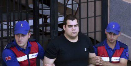 Με ποινή φυλάκισης δύο ετών αντιμέτωποι οι δύο Έλληνες στρατιωτικοί